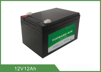 12V 12Ah Professional Prismatic Lithium Batteries For Golf Carts Fast Charging
