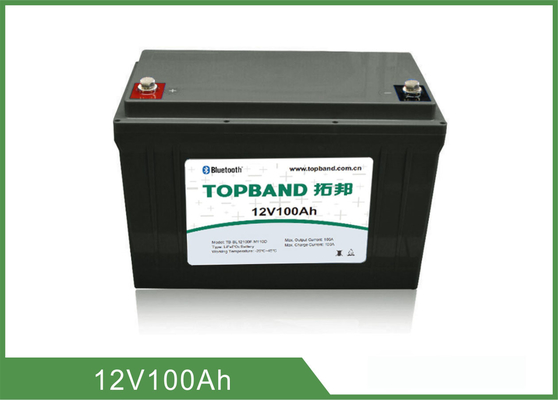 12V 100Ah Lifepo4 Rechargeable Battery For UPS Backup / Storage System