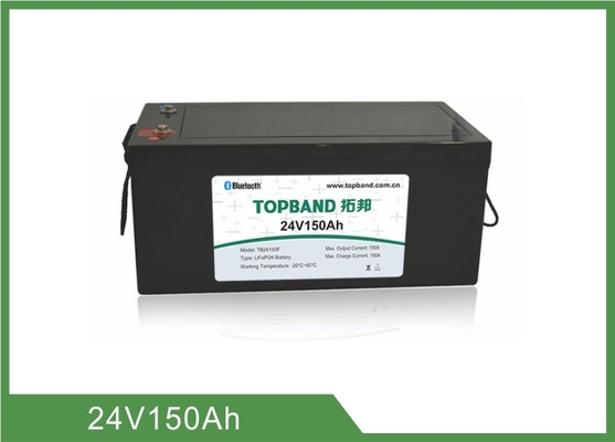 Nano LiFePO4 Rechargable Lithium Battery 24V 150Ah Light Weight